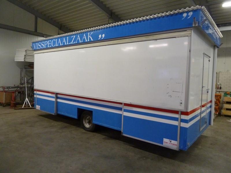 De Vries VIS verkoopwagen